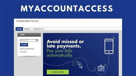 Credit Card Access Elan Credit Card Account Access Log In Self Service
