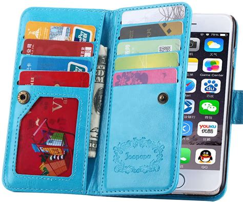 Credit Card Case For Samsung Galaxy S5 Amazon Joopapa Pu Leather Magnet Wallet Flip Case