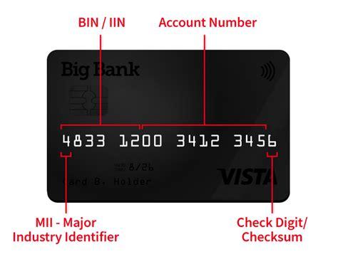 Credit Card Bin Query Bank Identification Number Bin Database Credit Card