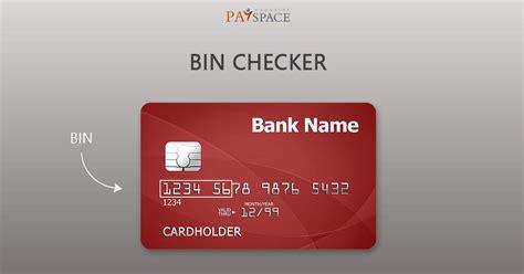 Credit Card Number Checker Online Bin Checker Bin List Database Lookup