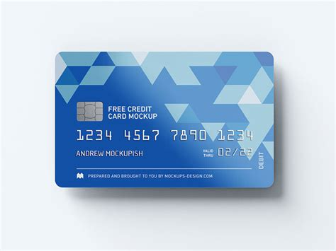 Credit Card Size Template Photoshop Blue Check Psd Template Psdgraphics