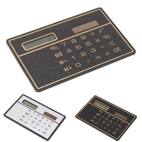Credit Card Thin Calculator Card Size Calculator Card Size Calculator Suppliers And