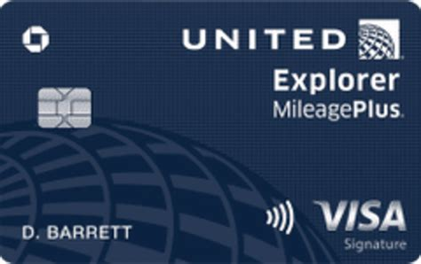 Credit Card Miles Chase Chase United Explorer Credit Card Review Is It Worth It