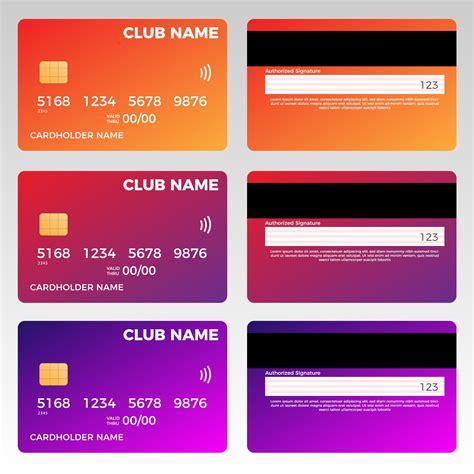 Credit Card Logos Psd Credit Card Template Psdgraphics