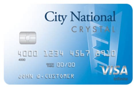 Credit Card Bank Of America Application Status Crystal Visa Infinite Credit Card City National Bank