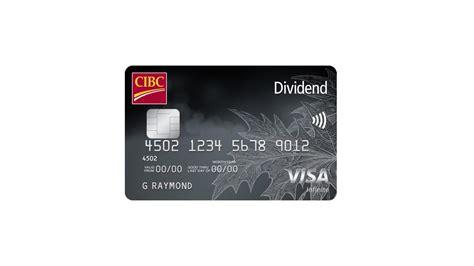 Credit Card Rebate Meaning Dividend Visa Infinite Credit Cards Cibc