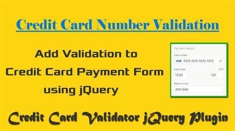 Credit Card Expiry Date Validation Java Credit Card Expire Date Validation Javascript Jobs