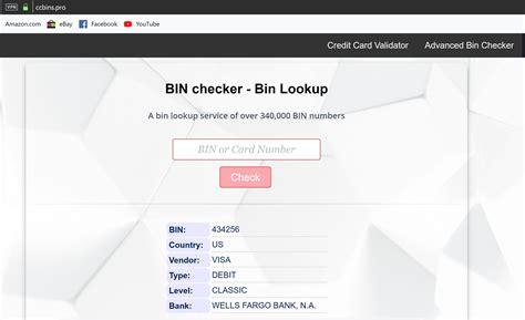 Credit Card Bin Query Free Biniin Lookup Web Service Binlist