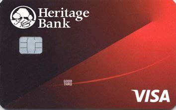 Credit Card Heritage Bank Heritage Bank 333 Apy Rewards Checking Account