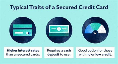 Credit Card For Bad Credit Secured How Do Secured Credit Cards Work Credit Karma