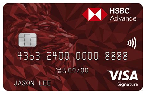 Credit Card Free Gift Singapore Hsbc Advance Credit Card Hsbc Singapore