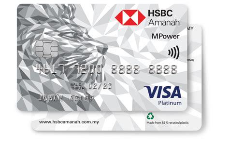 Credit Card Holder Malaysia Credit Card I Hsbc Amanah Malaysia Home