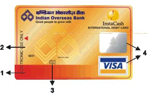 Credit Card From Indian Overseas Bank Indian Overseas Bank