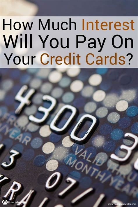 Calculate Credit Card Interest On Cash Advances Credit Card Interest Calculator How Much Interest Will I