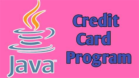 Credit Card Java Class Java Programming Language Wikipedia