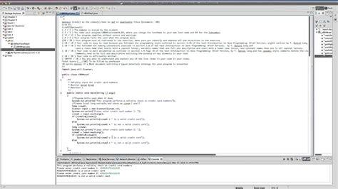 Credit Card Application Java Java Validate Credit Card Number Using Luhn Algorithm