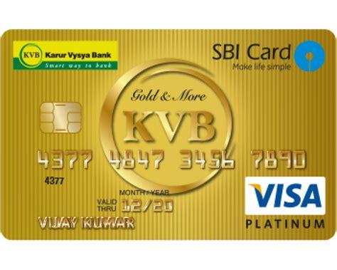 Credit Card Karur Vysya Bank Karur Vysya Bank Kvbcoin