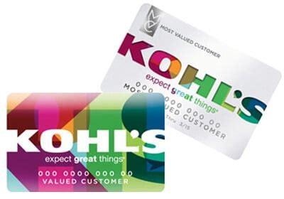 Credit Card At Kohls Mykohlscharge Kohls Credit Card Login