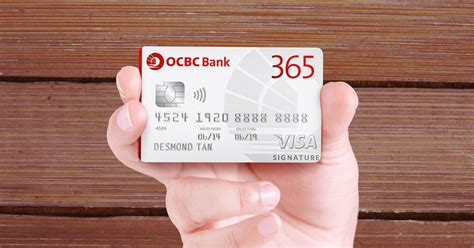 Credit Card Payment Using Form G 1450 Ocbc 365 Credit Card Ocbc Bank