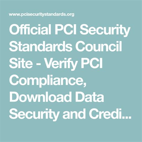 Credit Card Data Storage Law Official Pci Security Standards Council Site Verify Pci