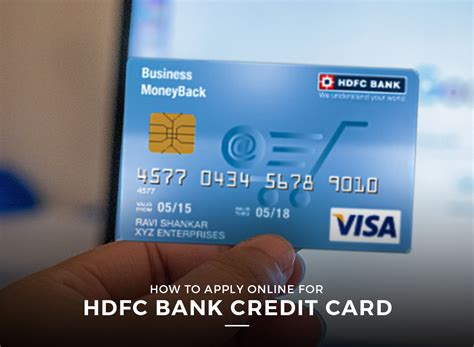 Credit Card Apply Online In Hdfc Bank Credit Card Online Application Hdfc Bank