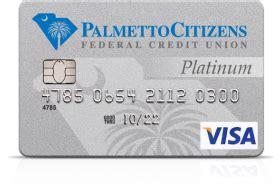 Credit Card Citizens Palmetto Citizens Federal Credit Union