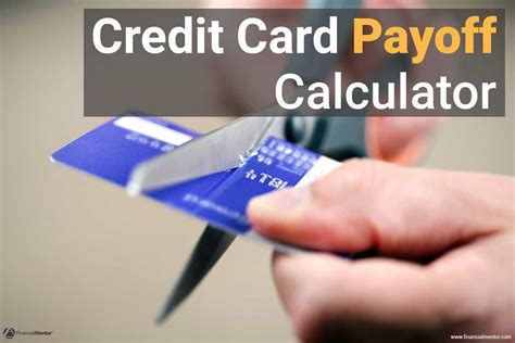 How Long To Pay Off Credit Card Debt Calculator