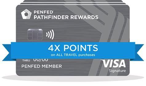 Credit Card Signup Bonus No Annual Fee Penfed Pathfinder Rewards American Express Credit Card
