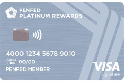 Credit Card Rewards Supermarket Penfed Platinum Rewards Visa Signaturer Card Credit