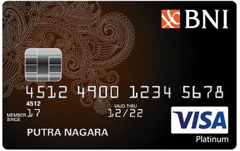 Credit Card Bni Login Personal Banking Bni