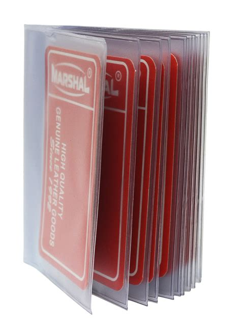 Credit Card Holder Plastic Inserts Plastic Wallet Inserts Replacement Windows D Credit Card