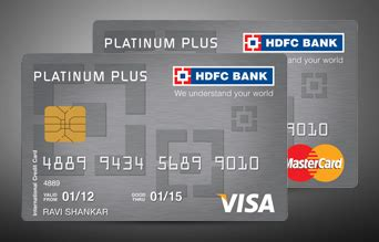 Credit Card Cancellation Form Hdfc Platinum Plus Credit Card Hdfc Bank