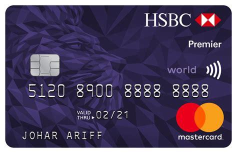 Credit Card For Students Usa Premier World Mastercard Credit Card Hsbc Usa