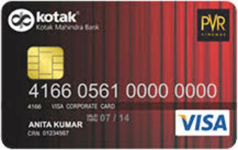 Credit Card Offers Pvr Cinema Pvr Gold Credit Card Fees And Charges Avail Credit Card
