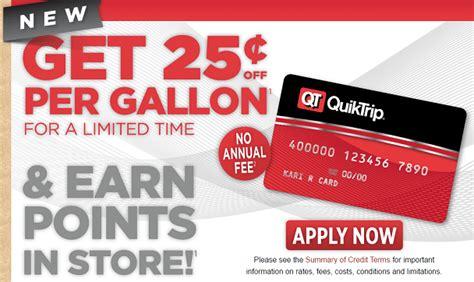 Credit Card To Credit Card Apply Quiktrip Quiktrip Corporation > Qt Cards > Faq