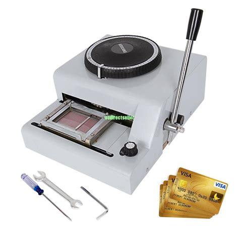 Credit Card Machine Making Shzond Embossing Machine 72 Characters Card Embosser