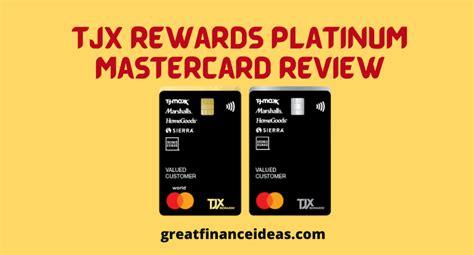 Credit Card Declined Mastercard Tjx Rewardsr Platinum Mastercardr Credit Card Insider