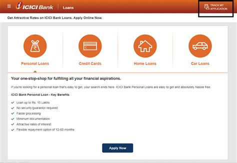 Credit Card Application Tracking Icici Track Icici Credit Card Status Know Icici Application Status