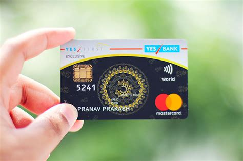 Credit Card Axis Bank Charges Yes First Exclusive Credit Card By Yes Bank