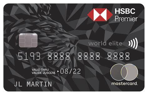 Hsbc Credit Card To Apply Credit Cards Canada Credit Card Hsbc Canada
