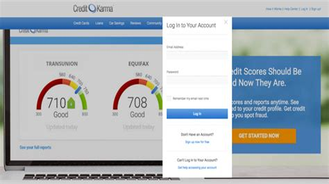 Credit Karma Update Score Log In Free Credit Score Free Credit Credit Karma