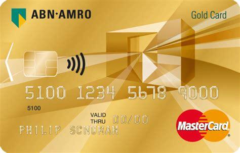 Creditcard Abn Geld Overmaken