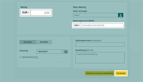 Creditcard Abn Geld Overmaken Geld Overmaken Spoedoverboeking Doen Abn Amro