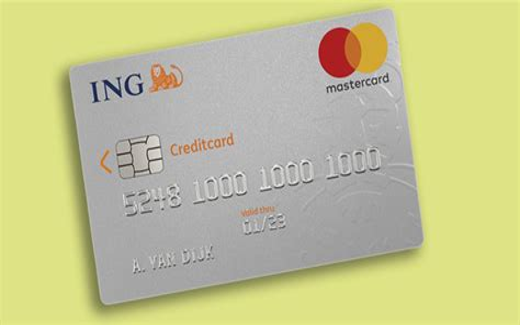 Creditcard Ing Verzekerd Ing Creditcard Creditcardnl