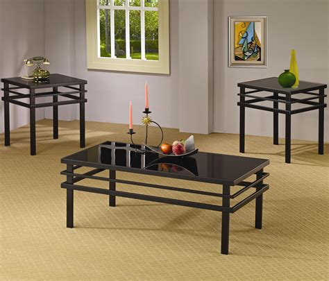 Creenagh 3 Piece Coffee Table Set