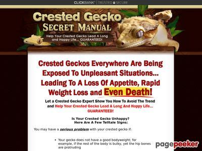 [click]crested Gecko Secret Manual Pdf Crested Gecko Secret Manual.