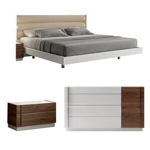 Cretys Platform Configurable Bedroom Set by Brayden Studio