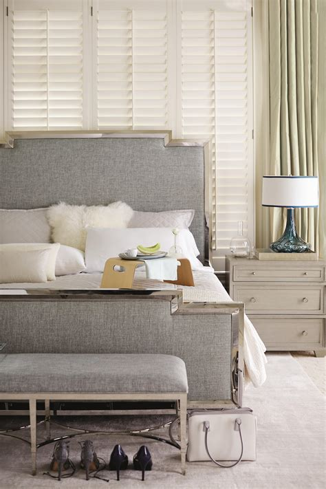 Criteria Upholstered Panel Bed by Bernhardt