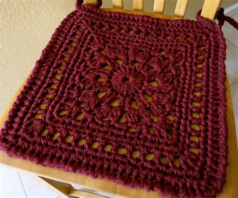 Crochet Chair Pad Pattern