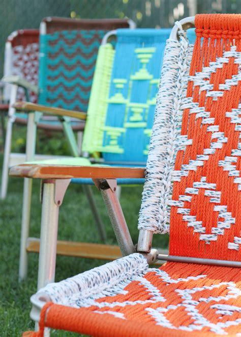 Crochet Outdoor Chair Pattern